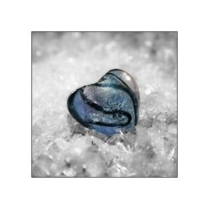 Frosted heart by monalisat
