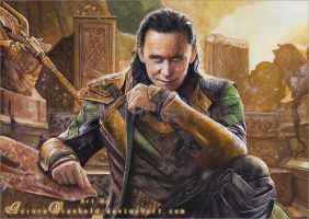 Loki - God of Mischief by AuroraWienhold