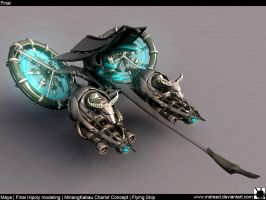 Minangkabau Airship Final02 by MDreed
