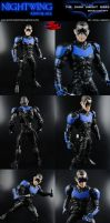 Custom Movie Concept Nightwing (Dark Knight Rises) by MintConditionStudios