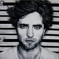 robert pattinson portrait 2 by SaraSam89