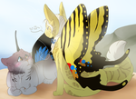 PV: Butterfly babes [breeding picture] by rattarie