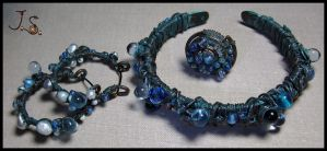 Set Treasures of the sea by JSjewelry