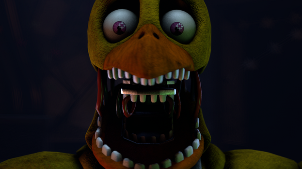 Withered Chica Jumpscare by XGBXDasian