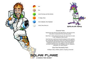 Solar Flare and Gamma Ray by T-Tiger