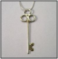 Another Key Pendant by GipsonDiamondJeweler