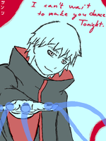 Tegaki 8 - Sasori can't wait by Tarka-r