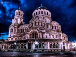Catedral Nevsky Sofia by powerspiders