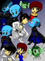 Chibi_Megamind_Characters_COLORED ^__^ by Fire-Miracle