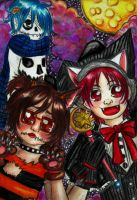 Contest Halloween - Yaoi-Shota-Life by Loves2LucyD19