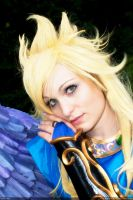 Nina, Breath of Fire II-Close up by Aotenshi