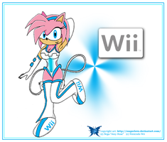 Wii Amy by ReaperLove