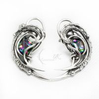 AXERVILTH Silver and Zirconia Mystic by LUNARIEEN