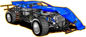 Lazer Chassis Cut-Away by bwassonart