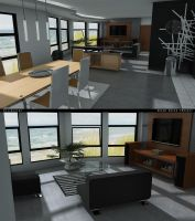 Beach house project 3 advance by 3DEricDesign