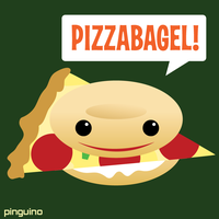 pizzabagel by pinguino