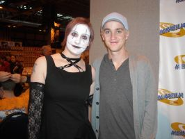 Me and Tom Felton by emopuppy07