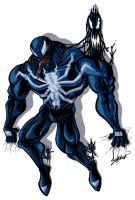 spiderman venom by petipoa