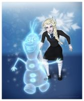 Elsa - Expecto Patronum by Loony-Lucy