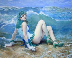 Sailor Neptune Wave by skimlines