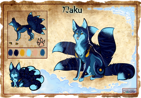 Kitsune Adoptable Daku (auction) CLOSED by Belliko-art