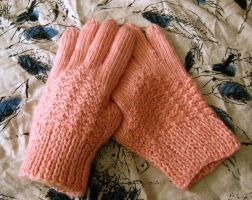 Rose Hip Gloves by GarnetKimzey