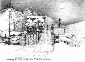 Potter_7_DH __Godric's Hollow by somelatevisitor