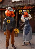 Western Pumpkins by Cassiopeeh