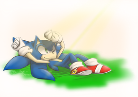 Sonic sunshine by Icy-Cream-24