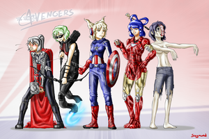 The Taoist Avengers by chioi-tempest