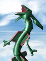 Rayquaza by KingLegato