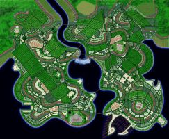 Capital city of the kingdom of Orrin Complete by nsam85