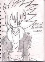 shadow the hedgehog human by SONICJENNY