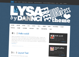 Lysa WordPress Theme by Dannci