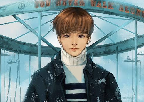 BTS - JungKook by darkshia