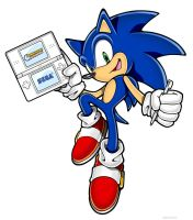 Image result for sonic rush adventure sonic