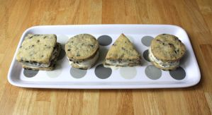 Oreo Ice Cream Sandwiches by claremanson