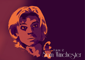 Sam Winchester by LittleHits