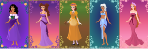 Disney Non Princesses by dcfan0590