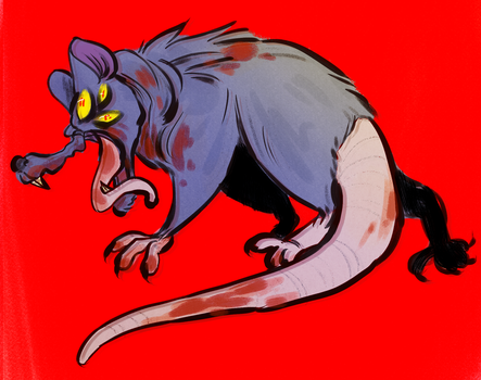 demon rat by dogfood66