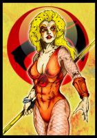 THUNDERCATS - Cheetara by SaintYak