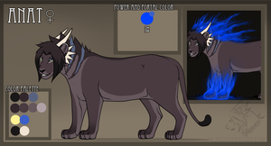Anat reference sheet OCTOBER by Roneri