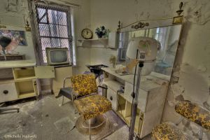 Old beauty parlor by pewter2k