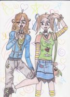 Ferrity and Roxanne by Lady-Fayble