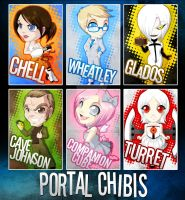 Chibi Set - Portal by ToxicStarStudio