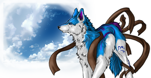 .::Windcaster::. by WhiteSpiritWolf