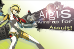 Aigis Arms up for Assult by NintendoBro