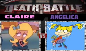 Death Battle: Claire Vs Angelica by ARTIST-SRF