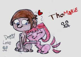 ThoMarie LOVE OMG CUTE X3 by shamanta