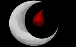 The Blood Moon Tear- My trademark by BlackDemonFang